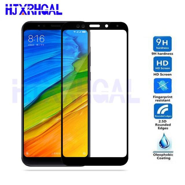 Tempered Glass For Xiaomi Redmi 5 Redmi 5 Plus 9H Full Cover Screen Protector For Redmi5 Redmi5plus Phone Glass Protective Film