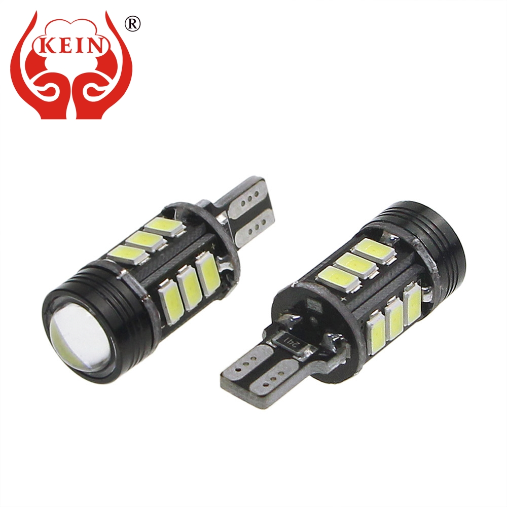 KEIN 2pcs w16w led t15 led car Light Reverse Bulb 5630 921 912 Back up reverse Rear Backup Parking Signal Lamp white 12V Vehicle