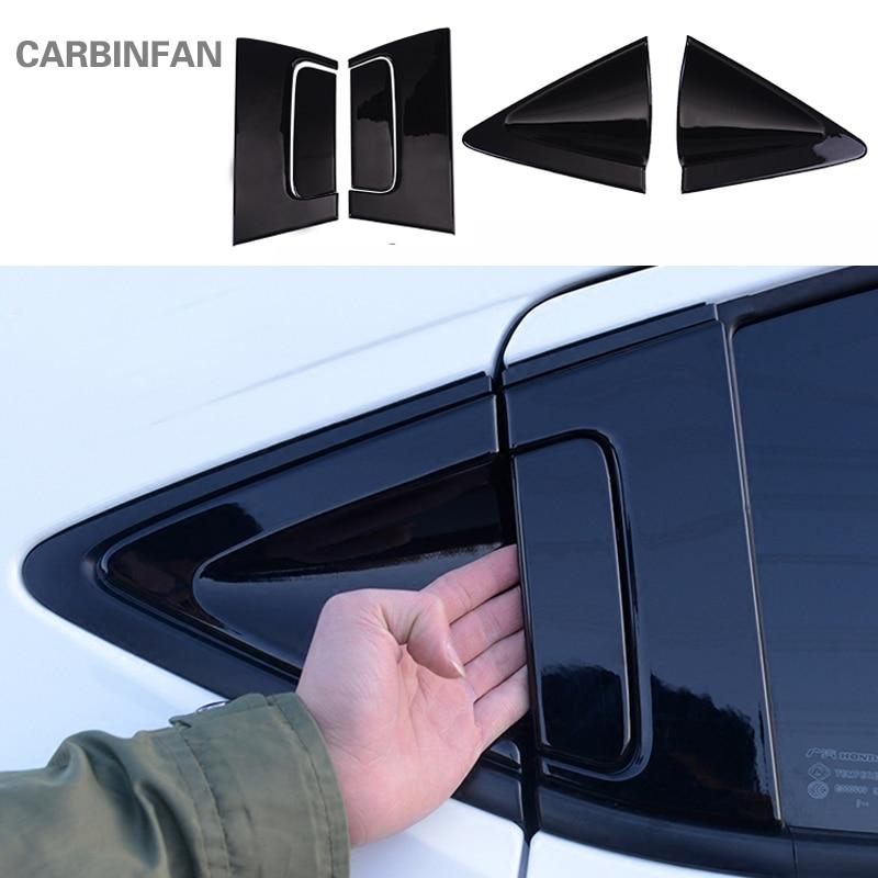 Black titanium Inner door bowl Decorative trim For Toyota RAV4 2016 2017 2018