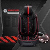 Универсальный микрофибры кожа + губка Слои 5 подушки сиденья автомобиля pad, спортивный автомобиль стиль, автомобиль Стайлинг для седан внедо