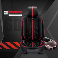 Universal Microfiber Leather+Sponge Layer 5 Seat Cushion Car pad, Sport Car Styling, Car Styling For Sedan SUV