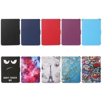 For Kobo Clara Clear HD Ultra Slim Smart Cover TPU Leather Protective Cases