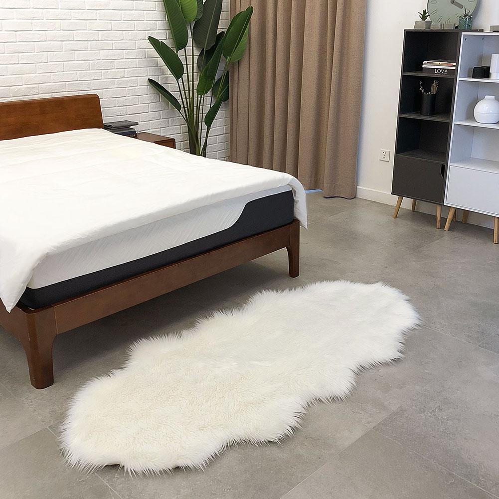 Tapis en laine tapis de sol luxueux multicolore forme vague salle à manger chambre décoration de la maison