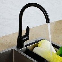 Superfaucet Роскошные Однорычажный Черный Кухонной Мойки Смесители На Бортике Смеситель Кухонный Кран Краны HG-1241