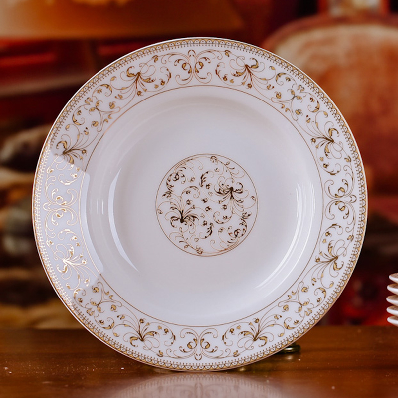 Fashion 8 inches Bone China Porcelain Dishes Plates Flower Pattern Ceramic Dinnerware Plates-in Dishes \u0026 Plates from Home \u0026 Garden on Aliexpress.com ... & Fashion 8 inches Bone China Porcelain Dishes Plates Flower Pattern ...