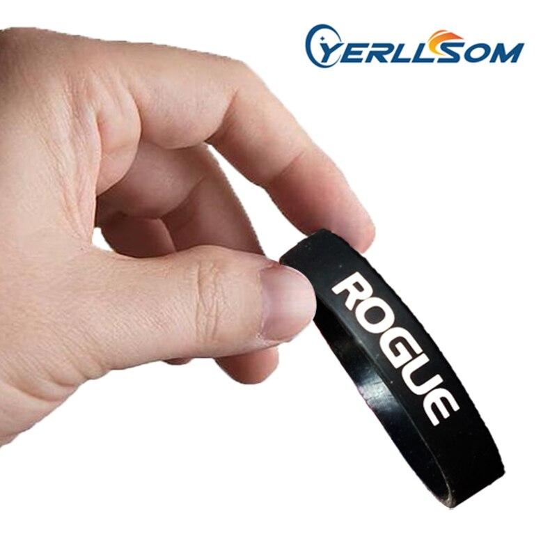 YERLLSOM 500 teile/los Hohe Qualität Maßgeschneiderte Persönliche Gedruckt 1 farbe logo Armbänder silikon für veranstaltungen P041807-in Bettelarmbänder aus Schmuck und Accessoires bei  Gruppe 1