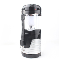 New Large Multifunctional Stretching Flashlight Lantern LED Light Large Flashlight Searchlight Solar Energy Charge Mobile Phone