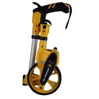 10 000Meter Folding Mechanical Measuring Wheel Distance Measuring Tools Wear Resistance Roller Walking Measuring Wheel TM06