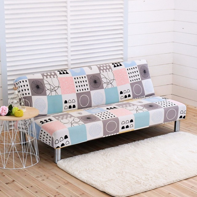 All Inclusive Printed Sofa Covers Slipcovers One Piece Elastic Cover  Furniture Covers For Bed Sofa
