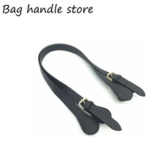 2016 New 1 pair of handles Size 47cm 77cm For Obag Hand Women Handbag for O Bag Silicon Bag new Accessories 2017 cheap 150g for obag handles FERAL CAT cotton