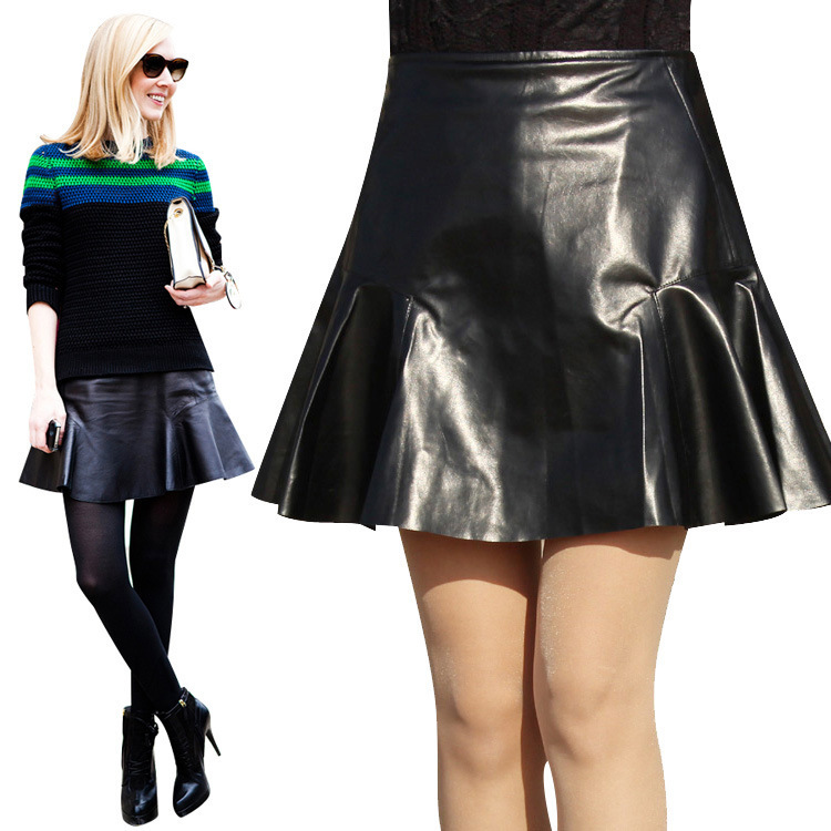 Aliexpress.com : Buy The Hot Sale Summer Style Leather Skirts ...