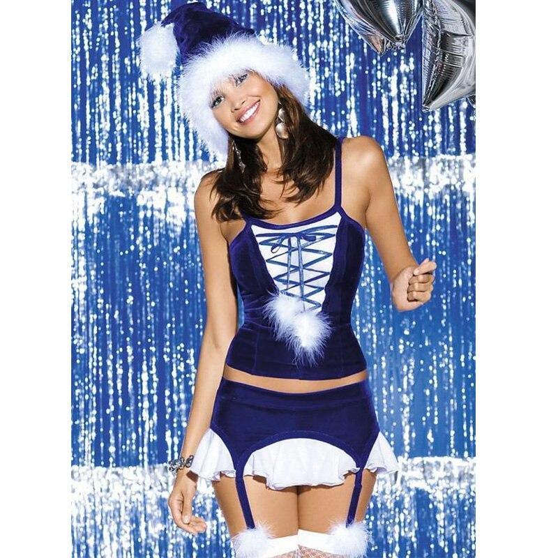 d40d57dbc83 2016 precio al por mayor envío gratuito obsesivo copo traje caliente  Navidad lujo sexy Lencería corsés disfraces