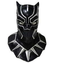 Super Hero Avengers Movie Marvel Character Latex black panther mask