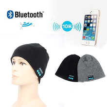Wireless Bluetooth Music Beanie Cap /Stereo headset to answer the call of Hat / Speaker Mic Knitted Cap
