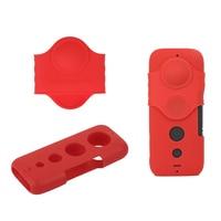 Insta360 One X Capa protetora de Silicone com Tampa Da Lente para Insta360 One X Sports Camera Case de proteção Capa de Lente Acessórios