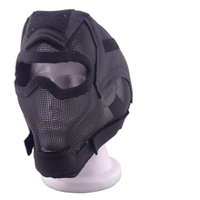 Tactical Airsoft Skull Shock Resistance Masks Sports Saftty CS Paintball Air Mask Wear goggles Full face Mask