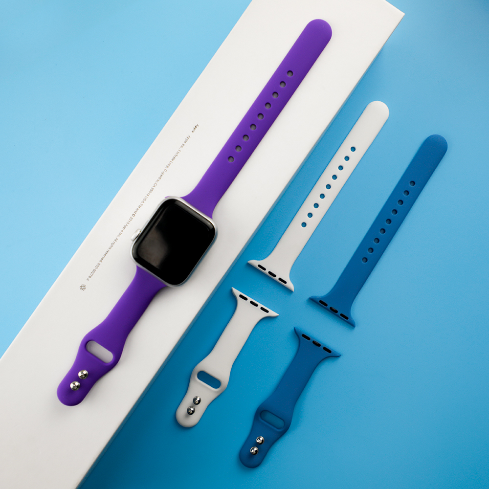 Silicone Strap For Apple Watch Band 38mm 42mm IWatch 4 Band 44mm 40mm Sport Belt Bracelet Correa Apple Watch 5 4 3 2 Accessories