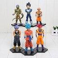 11 - 18 cm Dragon Ball Z Super Saiya Kuririn ressurreição F Vegeta Trunks Son goku Kuririn ação PVC figuras brinquedos bonecas