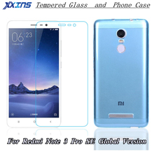 Xxins Tempered Glass For Xiaomi Redmi Note 3 Pro SE Special Edition Official Global Version+Transparent light blue Phone kate