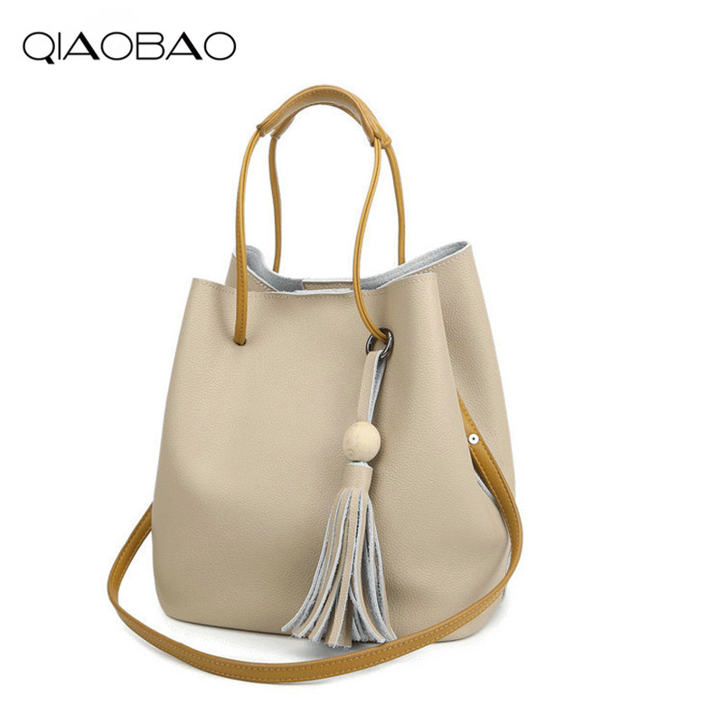 361acb879053 Qiaobao новые модные женские туфли 100% кожаная сумка Винтаж Для женщин  messemger Сумки сумка через плечо сумка Bolsas композитный мешок