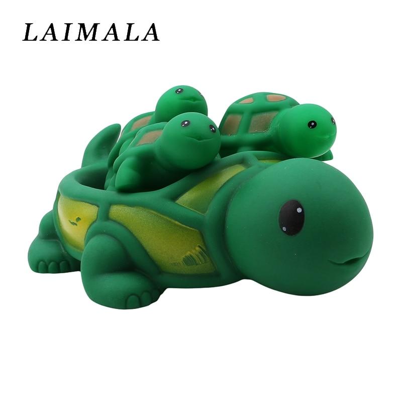 Job Lots of 20 Baby Bath Toys Rubber Tortoises Turtles