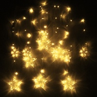 2M 138 LED String Light Christmas Outdoor Wedding Party Decor LED String Fairy Window Wall Star