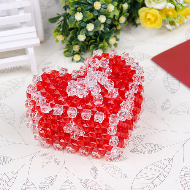 Christmas Jewelry Gift Boxes Handmade Acrylic Crafts Ideas Kids