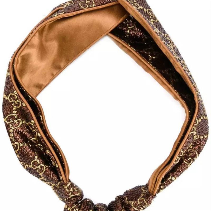 2018 haarbanden voor dames zijden hoofdband jacquard geweven satijnen - Kledingaccessoires - Foto 5