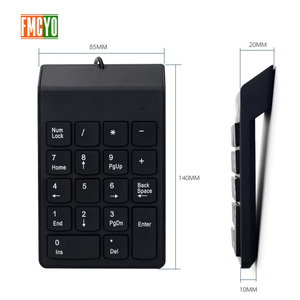 Image 4 - USB Cable Numeric Keypad Bank Financial Accounting Payment Portable 18 key Password Numeric Keypad