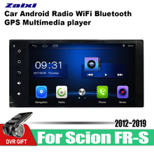 ZaiXi car gps multimedia player For Scion FR-S 2012~2019 Android navigation raido video audio stereo wifi