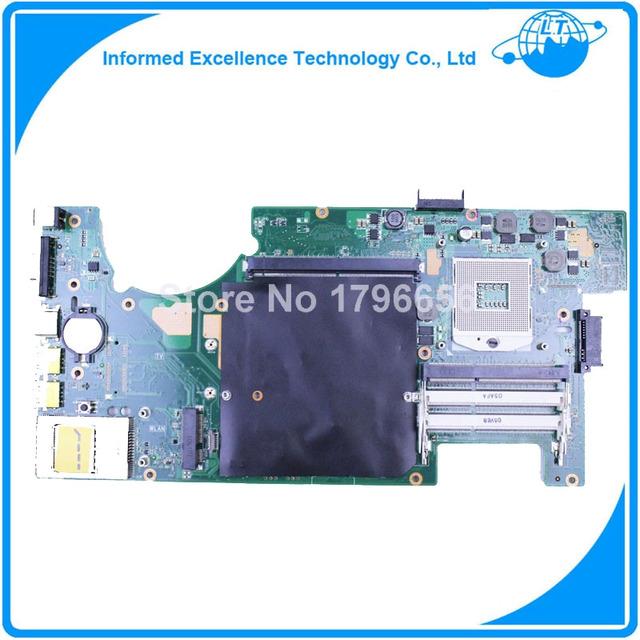 Para asus g73jh portátil 60-ny8mb1200-b0d mainboard 4 ranuras de memoria motherboard trabajo perfecto