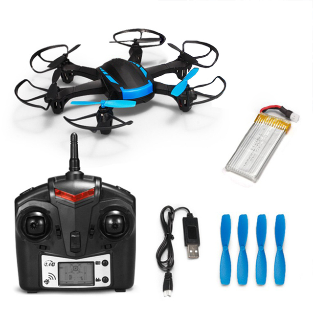 H21 2.4GHz 4CH RC Drone RTF Headless Mode Hexacopter One Key Return Helicopter with LED Lights Free Shipping
