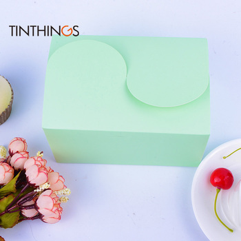 100pcs paper cake box Gift Packaging For Home Party birthday Wedding Dessert Package baking cupcake Cookies Candy Nuts box