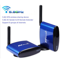 5 8G Wireless Transmitter and font b Receiver b font with IR Remote up to 200M