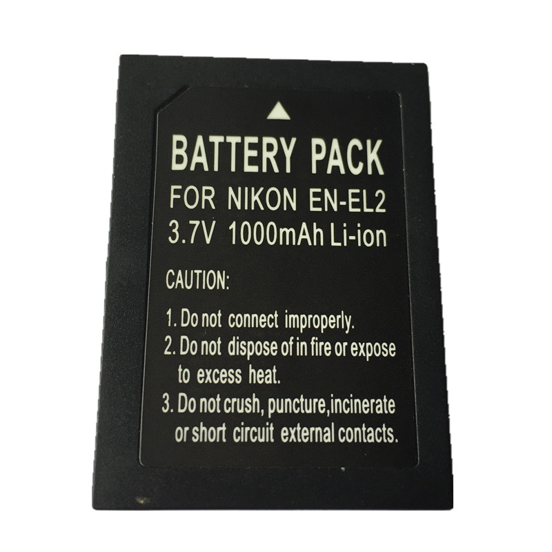 ÂME SOEUR EN-EL2 EN EL2 batteries au lithium pack ENEL2 Appareil Photo Numérique Batterie EL2 Pour Nikon COOLPIX 2500 3500 ans SQ