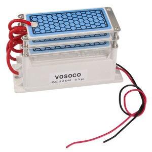 Image 5 - Ozone Generator 220V 15g/h home Air Purifier Ozonizador Ozonator Air Cleaner 3 layers Ozon machine Ozonizer Sterilization 110V