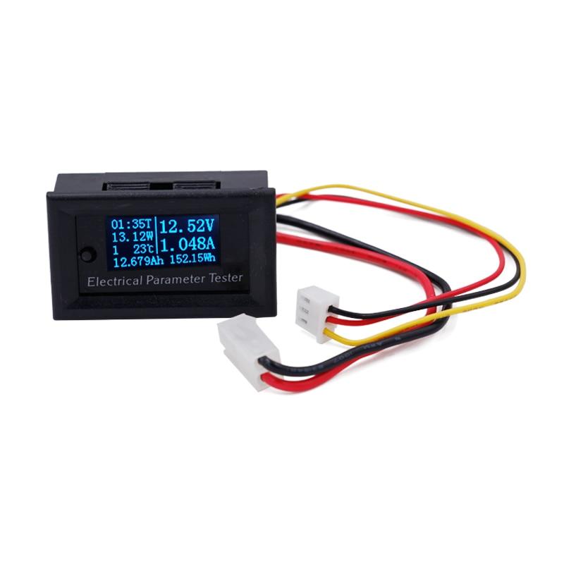 7w1 Wielofunkcyjny tester OLED Prąd napięciowy Czas Temperatura - Przyrządy pomiarowe - Zdjęcie 3