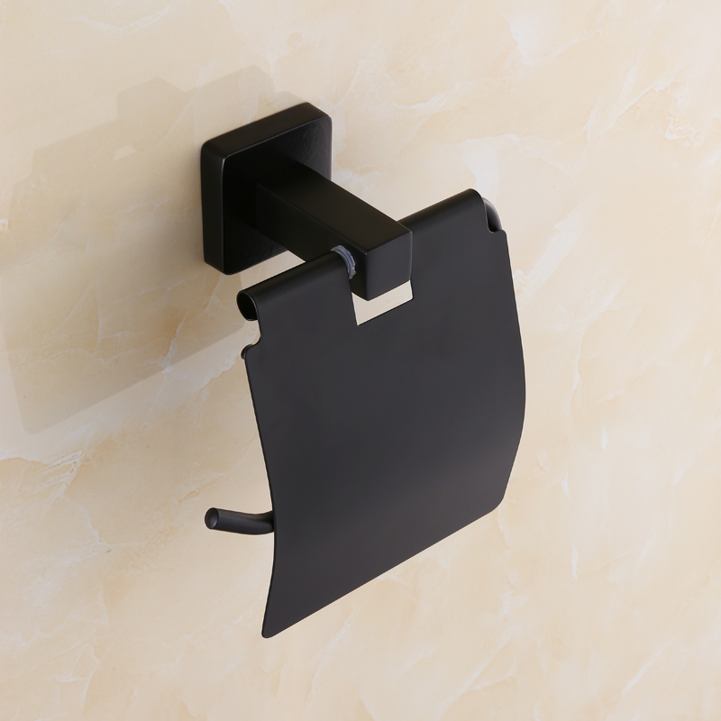 European Black Bronze Antique Paper Winder Box Towel Rack Stainless Steel Toilet Paper Holder Wall Mount Bathroom Accessories [zob] new original omron omron photoelectric switch e3r r2e4 2m