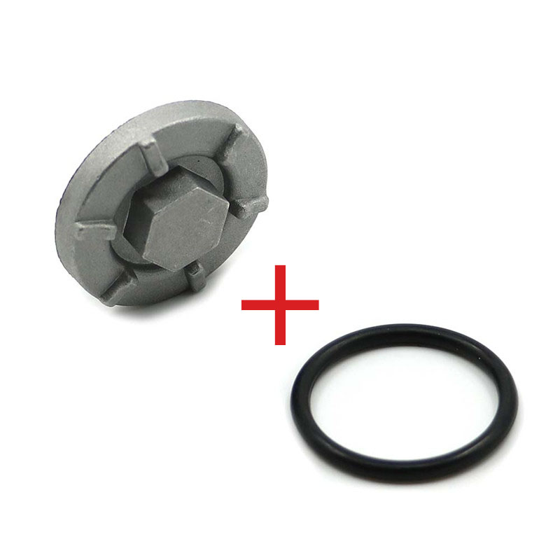 Oil Drain Plug Screw Bolt W/ Gaskst Replaces OEM 4HC-15351-00-00 For Yamaha Warrior Raptor Wolverine Big Bear YFM350 YFM 350