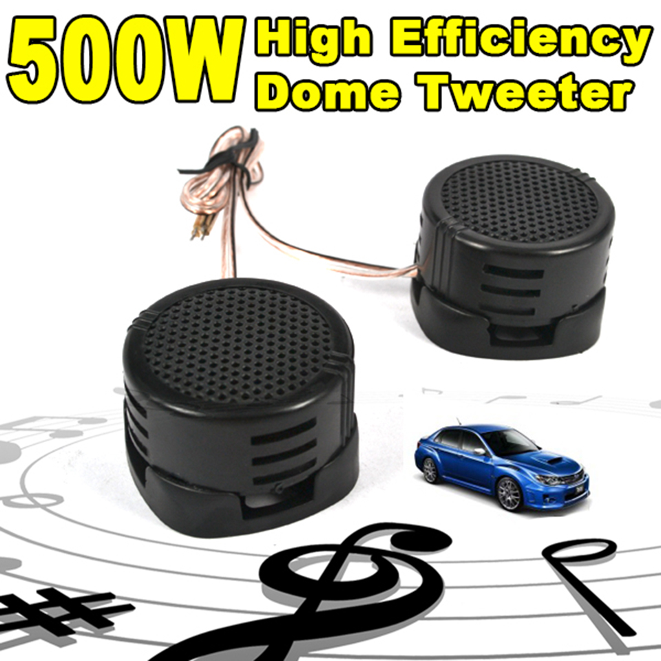 Kebidu Dome Tweeter Loudspeaker Audio Auto-Sound Mini Super-Power 500W High-Efficiency