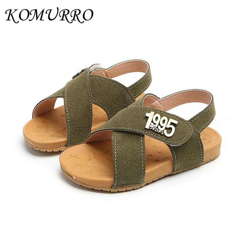 Sandalias para niños Zapatos de verano para niños de cuero Zapatos - Zapatos de niños