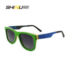 new cool outdoor sports eyewear sunglasses wood sunglasses for unisex UV400 protection 68043