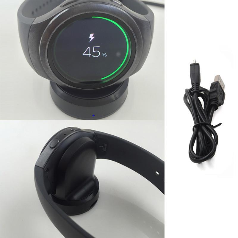S2 Smart Watch Wireless Charger For Samsung Gear S2 SM-720 SM-730 SM-732 Charging Dock For Samsung 720 730 732