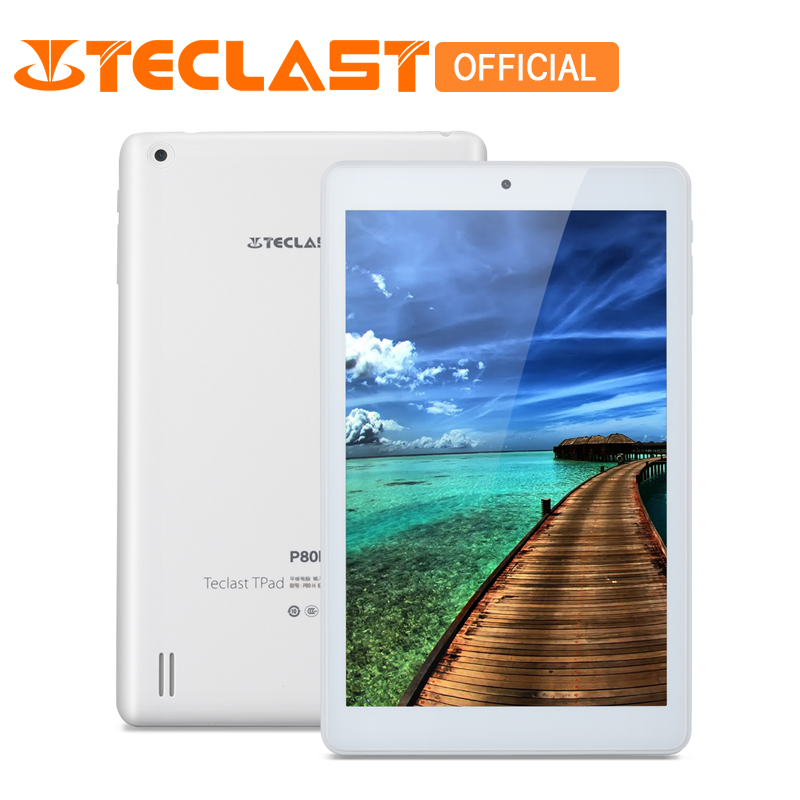 Teclast P80H New Version 2G+16G Android 5.1 MTK8163 Quad Core 8inch 1280x800 High Definition IPS 64bit 2.4G/5G GPS OTG Tablet новый 8 дюймовый планшетный пк teclast p80h mtk8163 quad core 1280x800 ips android 5 1 dual 2 4g 5g wifi hdmi gps