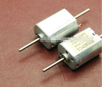 10pcs Mitsumi DC micro motor carbon brush motor MOTOR dc Biaxial 030 motor long axis 12V Current 0.055A 13500 RPM двигатель постоянного тока mitsumi motor 100 mitsumi 12 wormdrive motor001