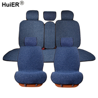 HuiER Flax 4 Seasons Universal Car Seat Cover 6 Colors Non slip Car Seat Cushion mat Car Styling Automobile Car Seat Protector