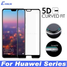 5D Curved Tempered Glass Case Full Cover Screen Protector Film For HuaWei Honor Mate 20 X 20i 10i 10 9 8X 8S P20 P30 Pro Lite(China)