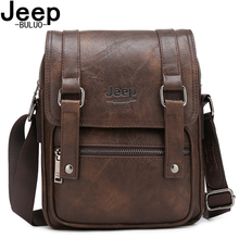 JEEP BULUO Brand Man's Crossbody Shoulder Bag Large Capacity Leather Travel Tote Men Multi-function Messenger Bags New Arrivals мультитул jeep multi function knife fitter jeep