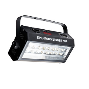 Image 3 - חם למכור מתח גבוה סופר בהיר DMX שליטה קולית 16 LED הסטרובוסקופ 400W Strobe מנורת מסיבת דיסקו DJ בר אור strobe אורות