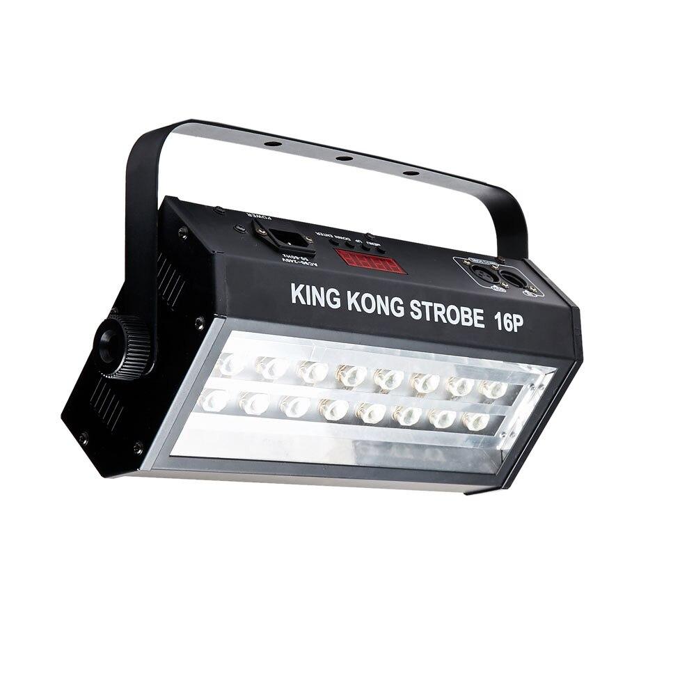 Image 3 - Hot sell high power super bright DMX Voice control 16 LED Stroboscope 400W Strobe Lamp Party Disco DJ Bar Light strobe lights-in Stage Lighting Effect from Lights & Lighting